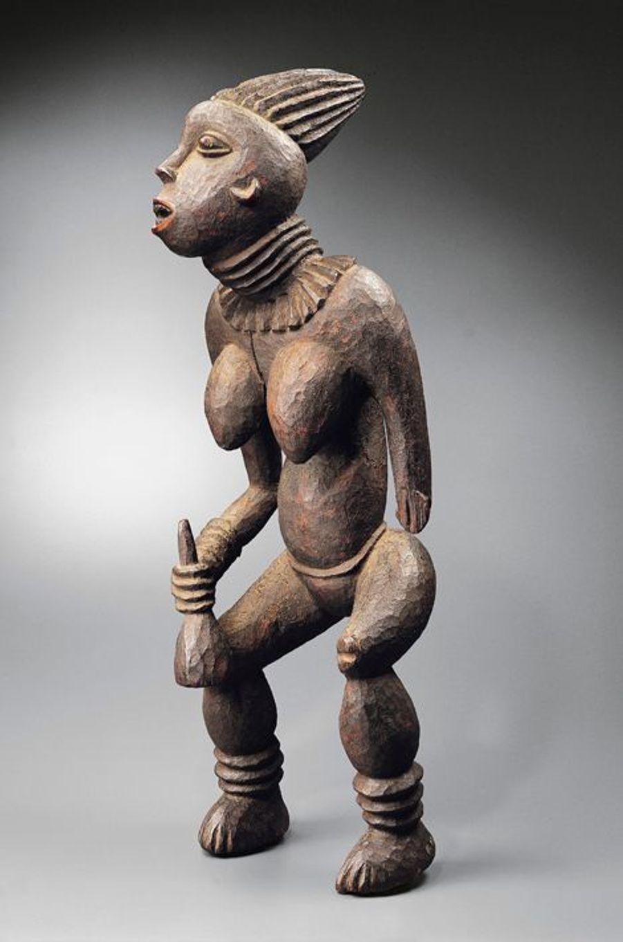 Statue l efem à l'effigie d'une princesse - Bangwa (Cameroun)