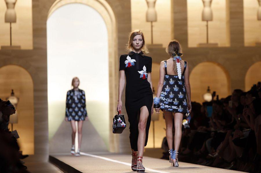 Le défilé Fendi au cours de la Fashion week de Milan