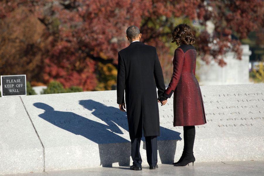 Obama et Clinton, unis pour honorer JFK