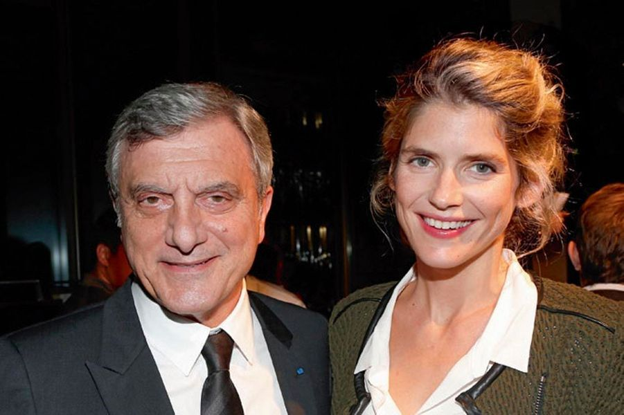 Sidney Toledano, président de Dior Couture, Alice Taglioni.