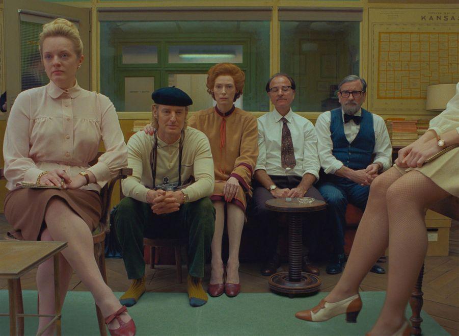 """""""The French Dispatch"""" réalisé par Wes Anderson avec Bill Murray et Tilda Swinton,dont la sortieétait prévue en juillet, a été repousséau 16 octobre 2020."""