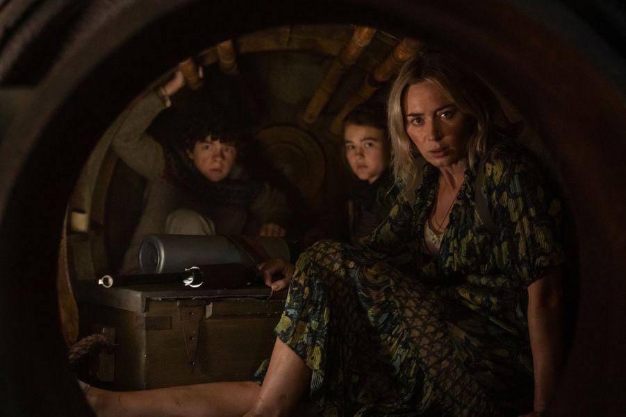 """""""Sans un bruit 2"""" réalisé par John Krasinski avec Emily Blunt et Cillian Murphy,dont la sortieétaitprévuele 18 mars, a été repoussé au 9 septembre 2020."""