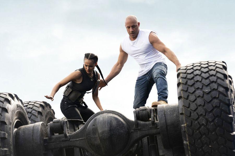 """""""Fast & Furious 9"""" de Justin Lin avec Vin Diesel et Michelle Rodriguezdont la sortieétaitprévuele 20 mai, a été repoussé à avril 2021."""