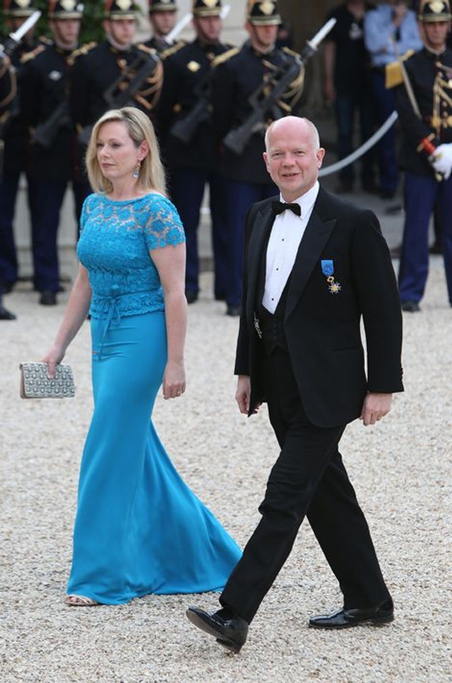 William Hague et son épouse