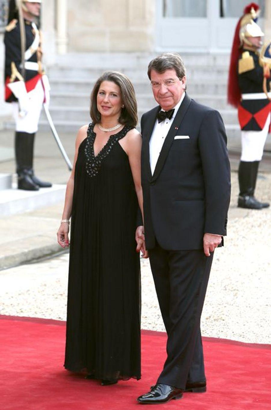 Xavier Darcos et son épouse
