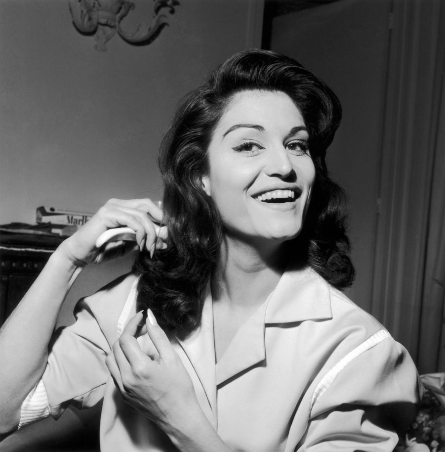 Dalida en 1958.