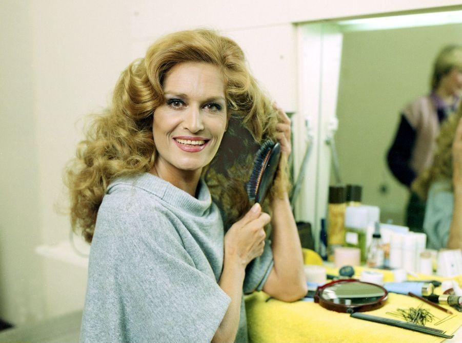 Dalida en 1983.