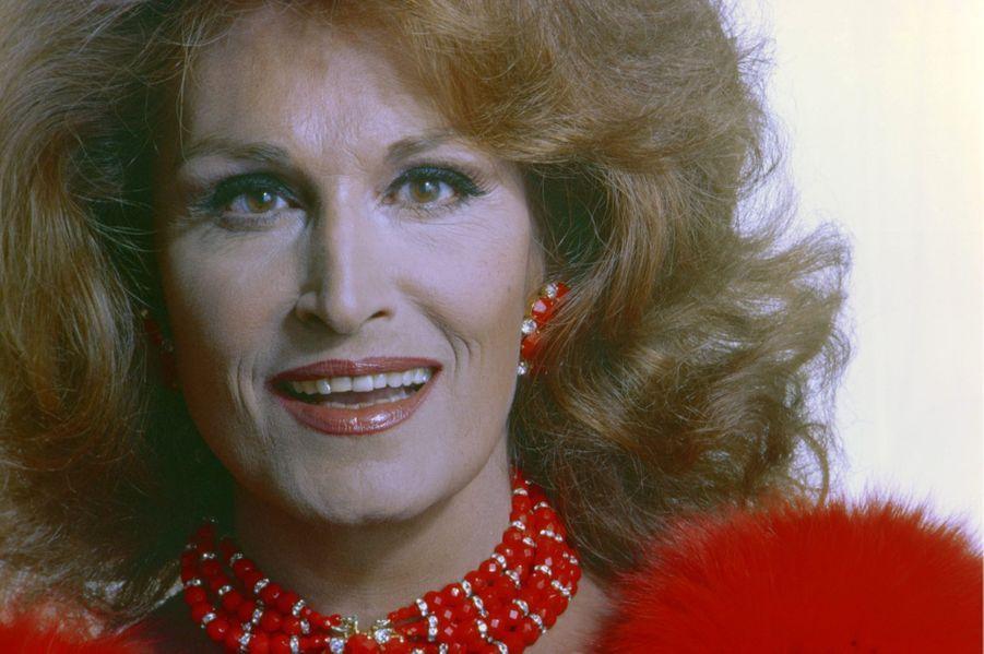 Dalida en 1982.