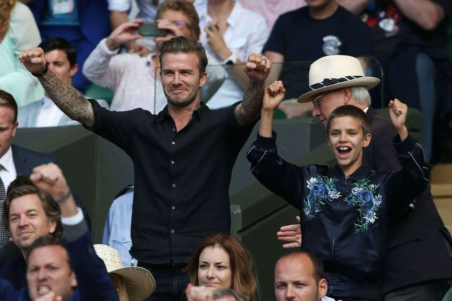 David Beckham et Roméo