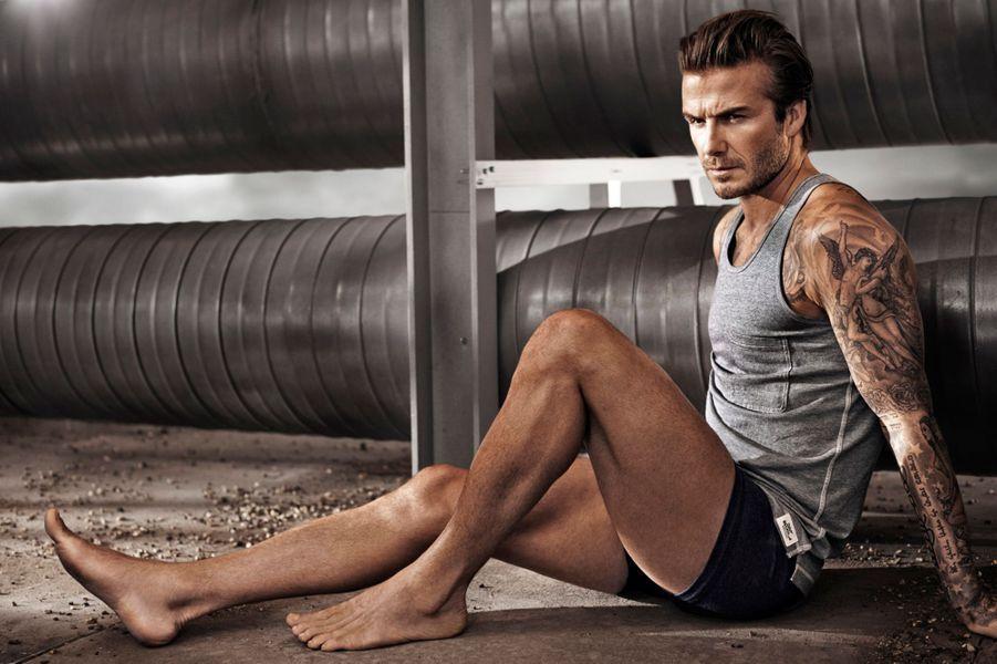 David Beckham, mannequin de luxe pour H&M