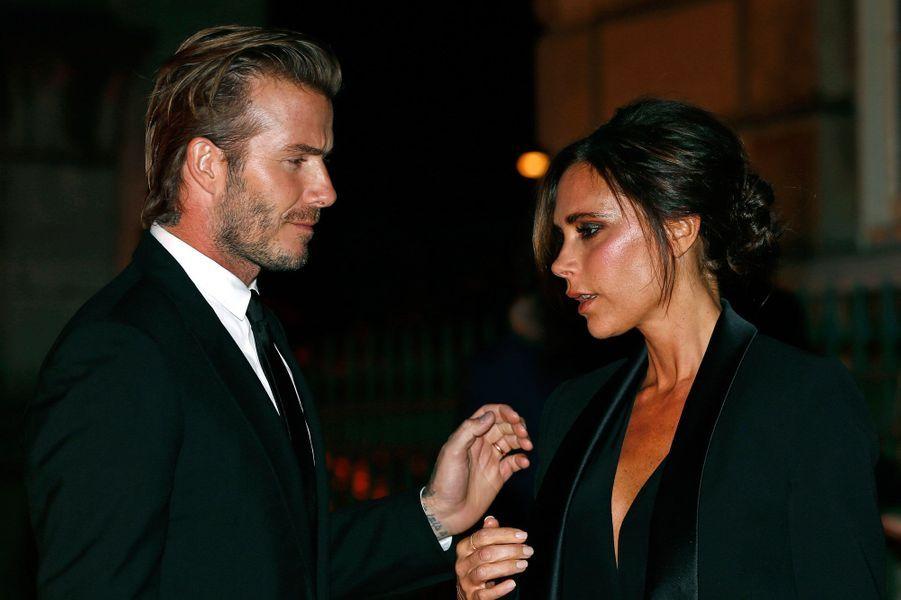 David et Victoria Beckham en 2013