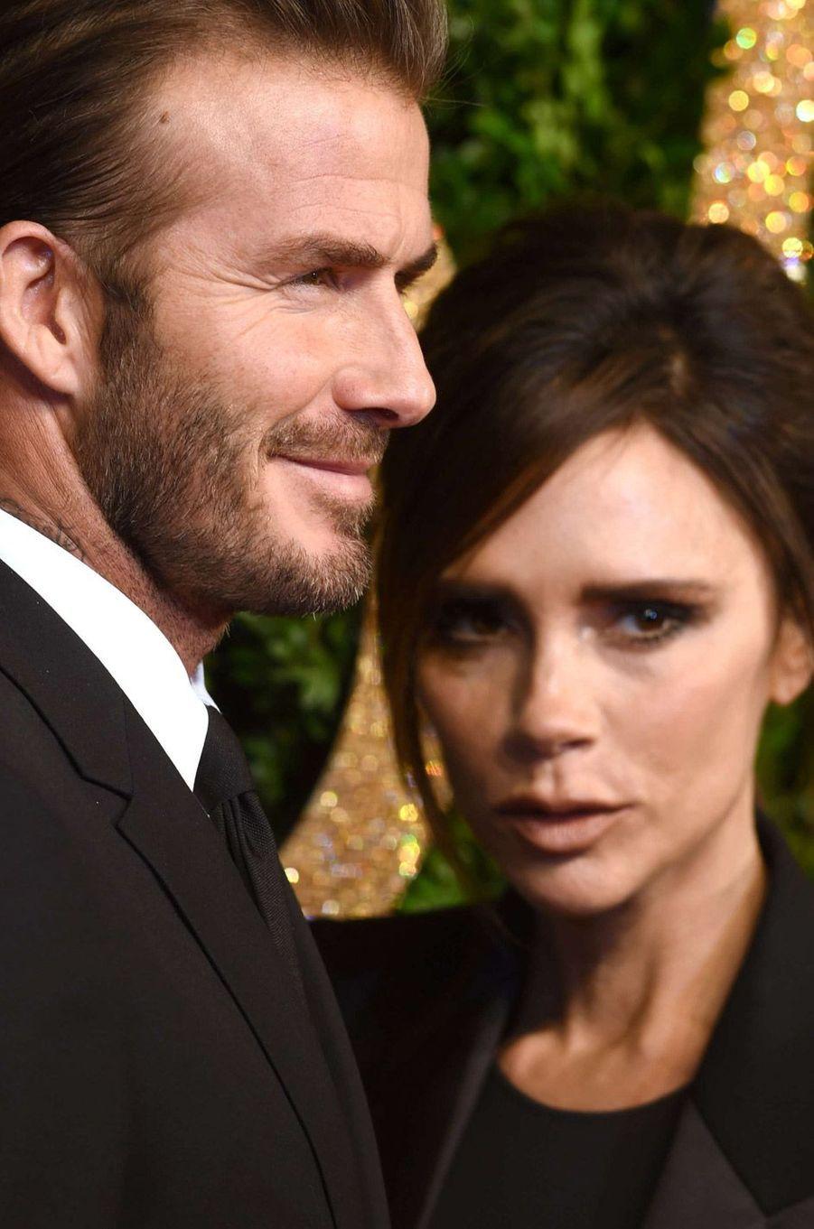 David et Victoria Beckham en 2015
