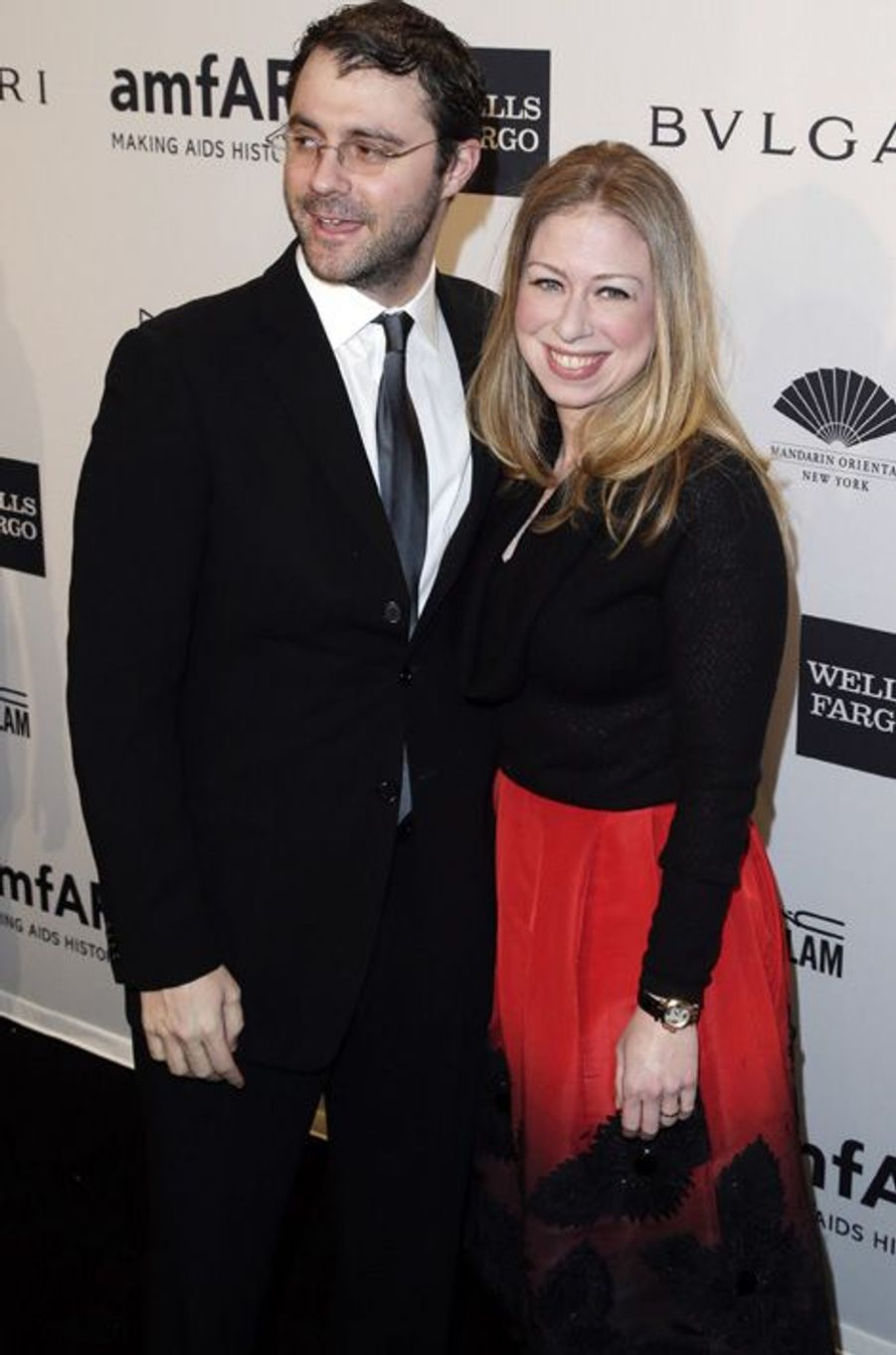 Chelsea Clinton et Marc Mezvinsky