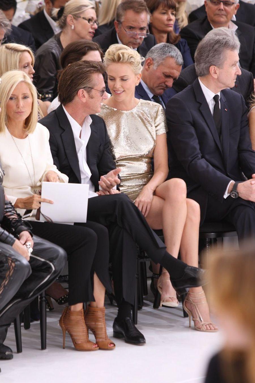 Charlize Theron et Sean Penn, love story à Paris