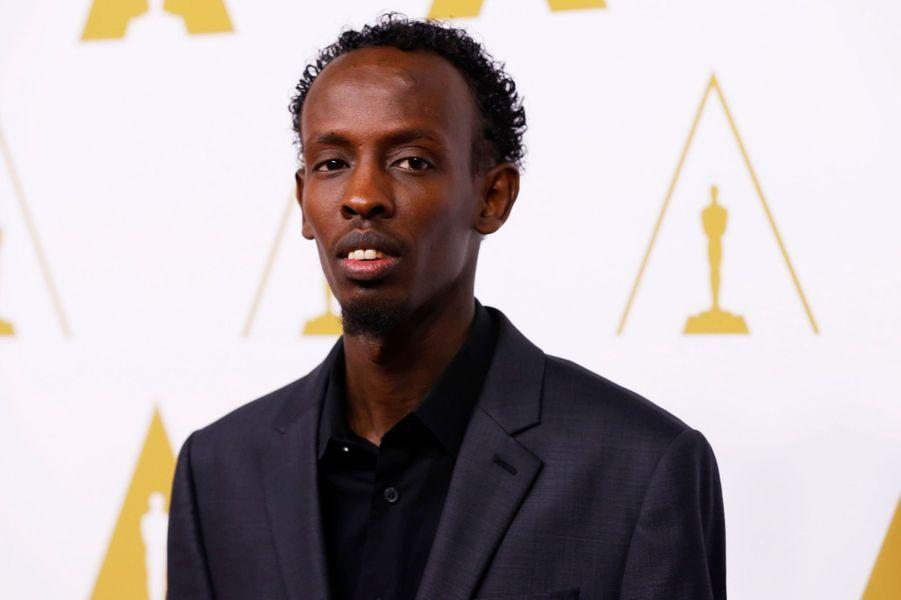 """Barkhad Abdi (catégorie meilleur acteur dans un second rôle pour """"Capitaine Phillips"""")"""