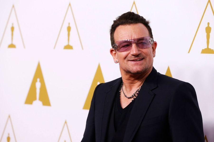 """Bono (catégorie meilleure chanson originale pour """"Mandela"""")"""
