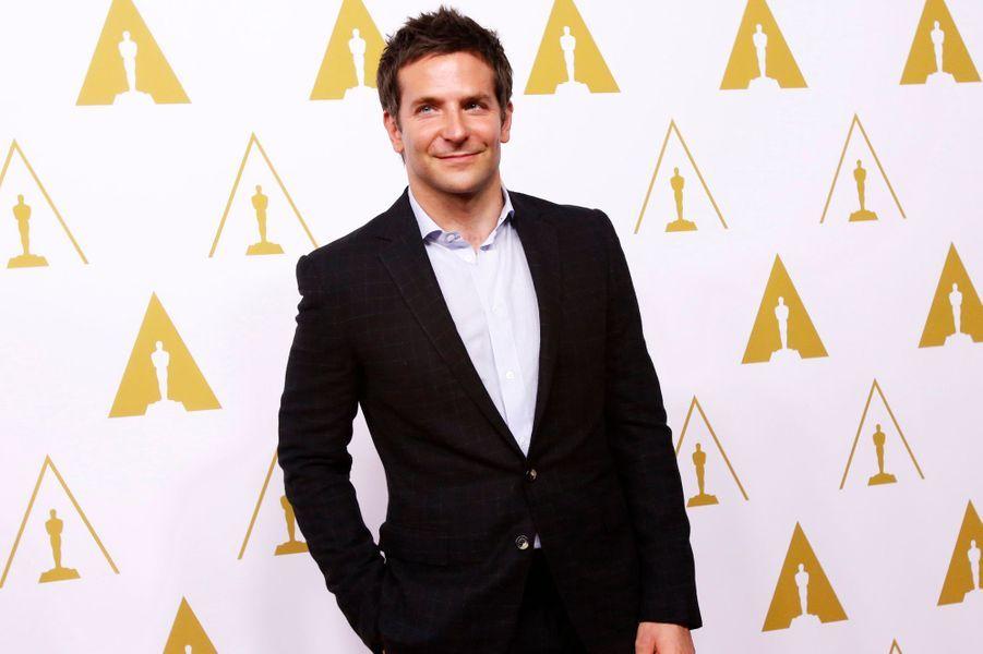 """Bradley Cooper (catégorie meilleur acteur dans un second rôle pour """"American Bluff"""")"""