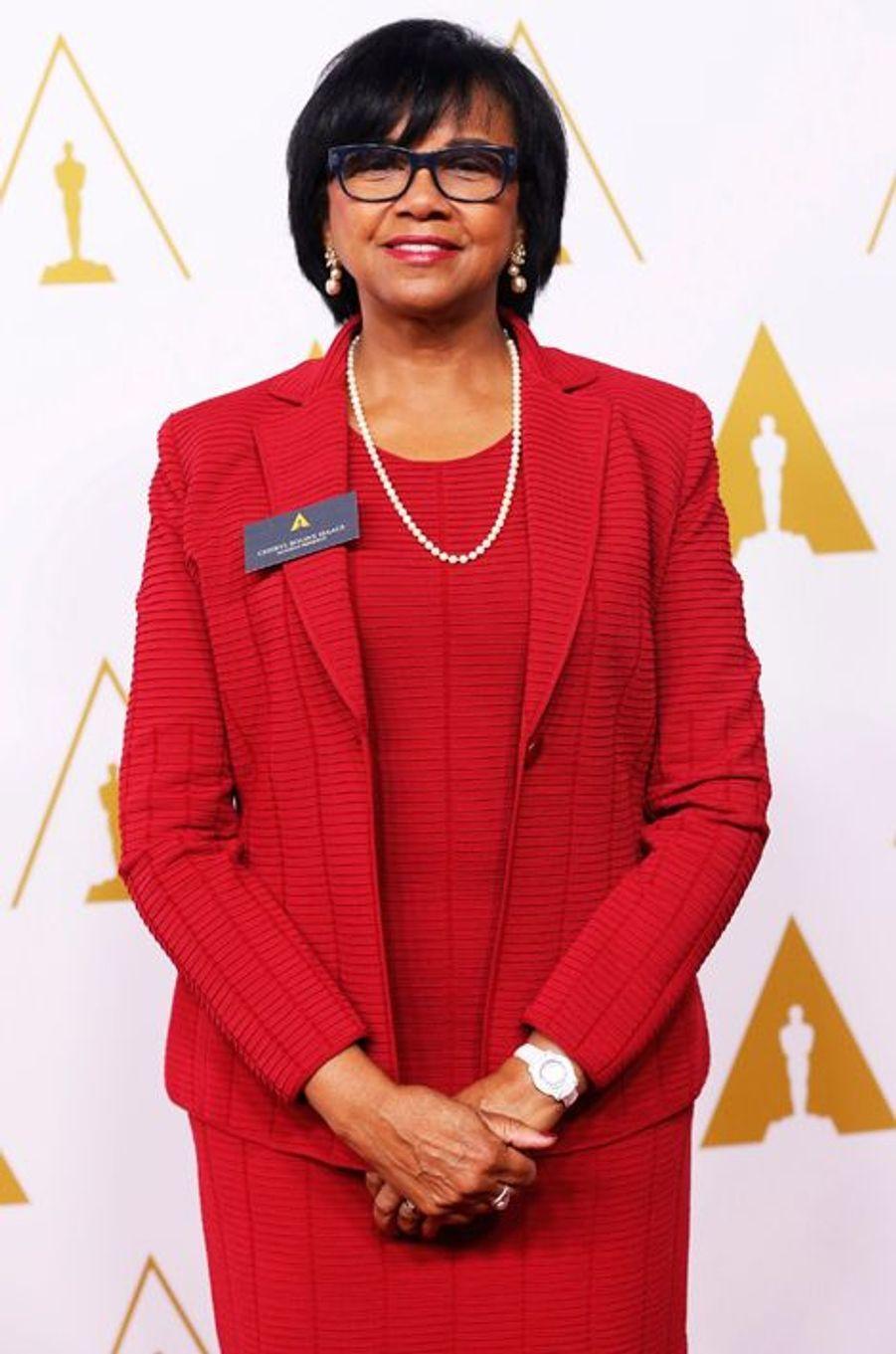 Cheryl Boone Isaacs, la présidente de l'Académie