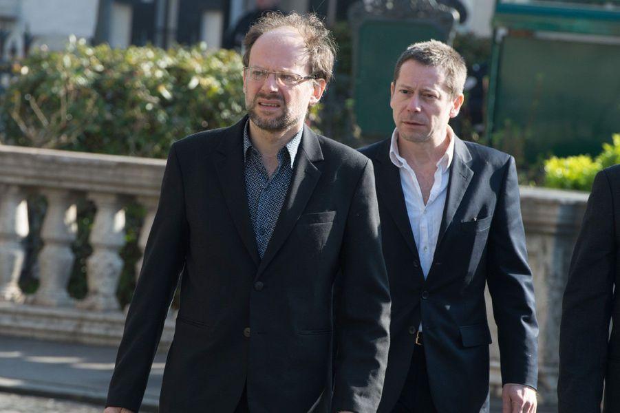 Denis Podalydes et Mathieu Amalric