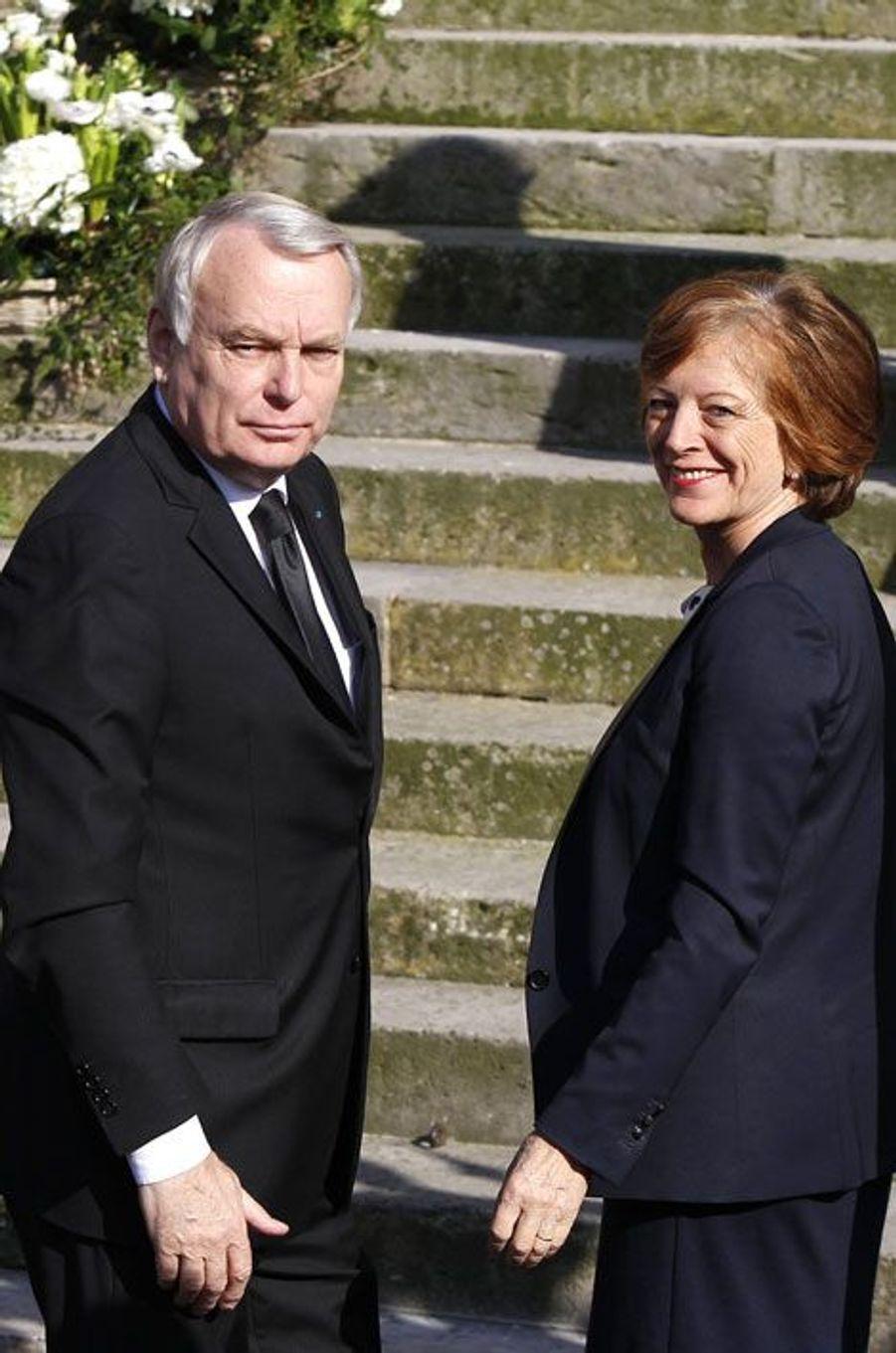 Jean-Marc Ayrault et son épouse Brigitte