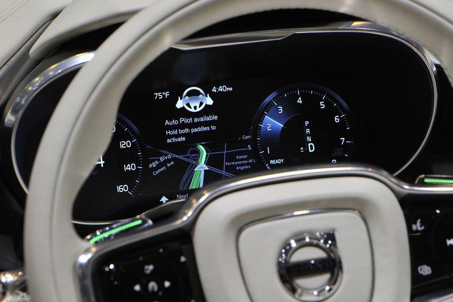 Le futur intérieur des voitures Volvo