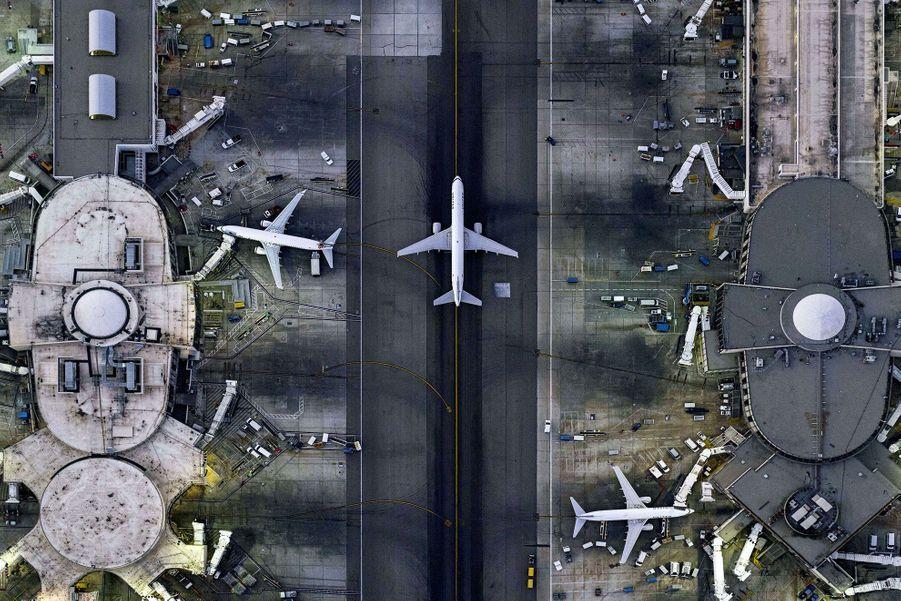 Les Etats-Unis depuis les airs