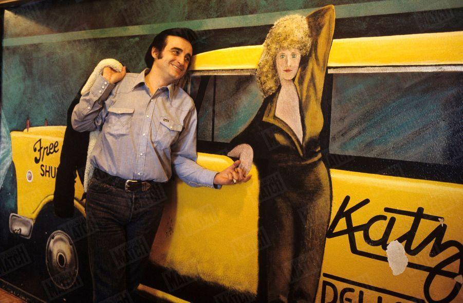 Dick Rivers àAustin, auTexas, aux Etats-Unis,endécembre1987.