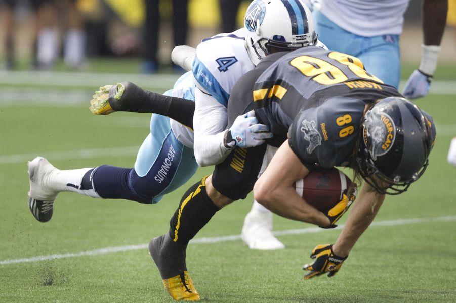 Affrontement entre les Argonauts de Toronto et les Hamilton Tiger Cats