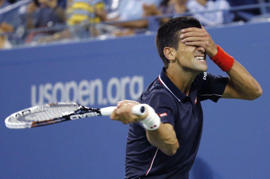 Novak Djokovic a sa technique pour faire tomber Andy Murray.