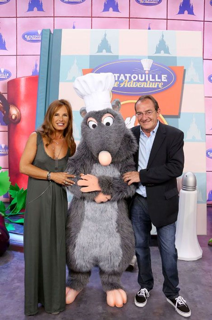 Nathalie Marquay et Jean-Pierre Pernault