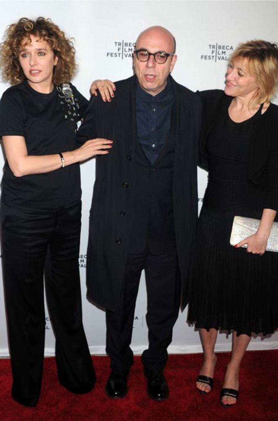 Les actrices avec Paolo Virzi
