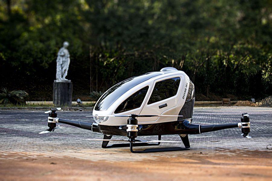 """EHang 184"", le premier drone-taxi, va voler dans le Nevada"