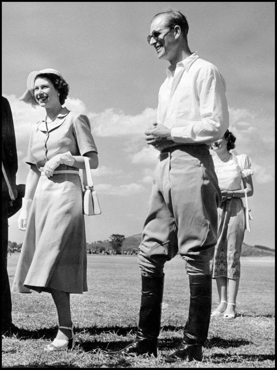 La princesse Elizabeth avec Philip au Kenya (février 1952)