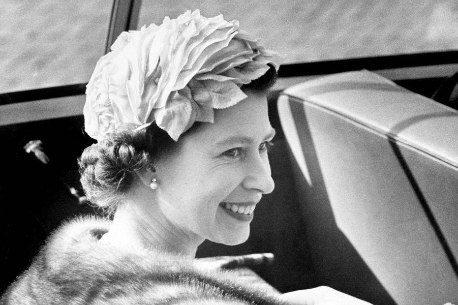 La reine Elizabeth II au Danemark (mai 1957)