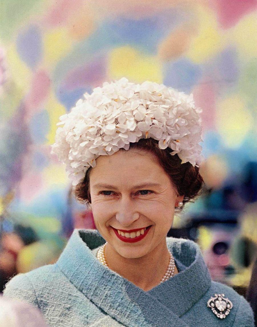 La reine Elizabeth II à Epsom (1962)