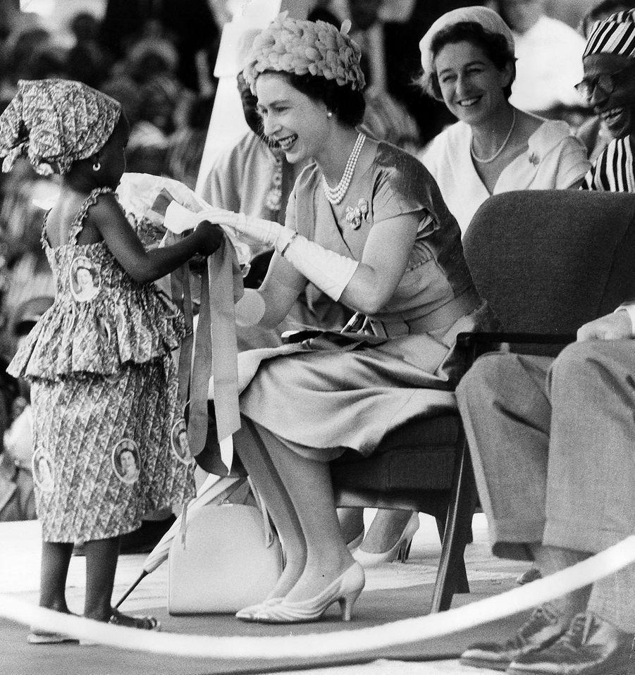 La reine Elizabeth II en Sierra Leone (novembre 1961)