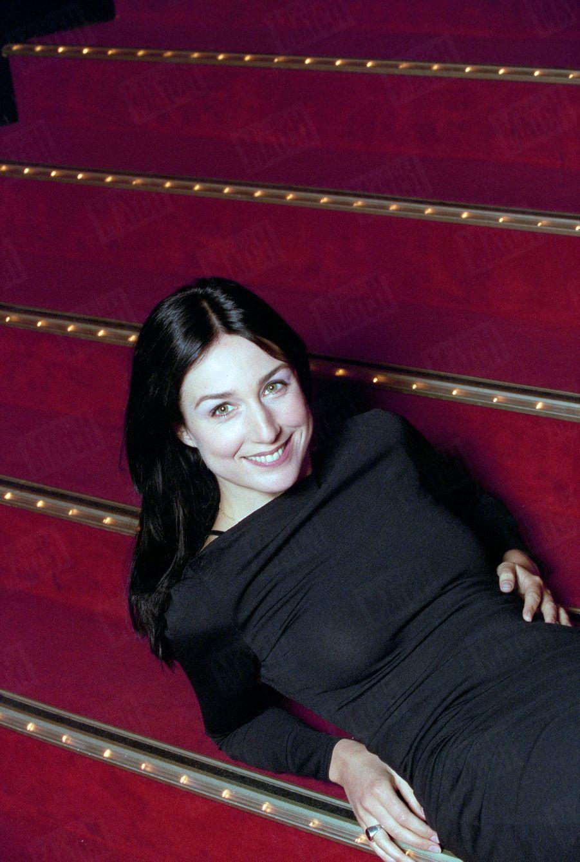 Elsa Zylberstein, premier rendez-vous photo avec Match en juillet 1998.