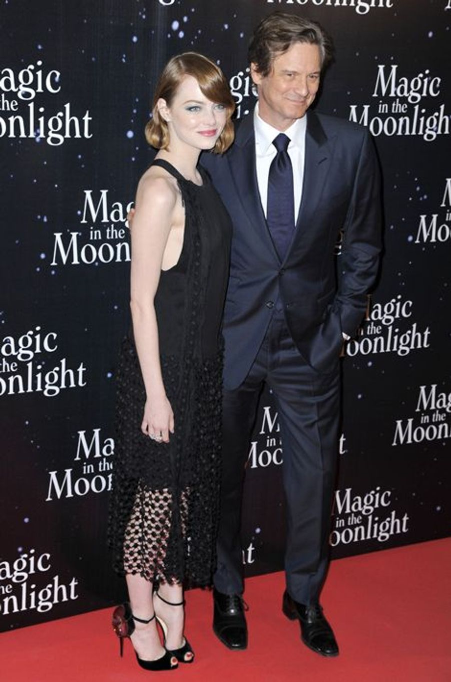 à Paris, Jeudi 11 septembre 2014, pour l'avant première de «Magic in the Moonlight» de Woody Allen.