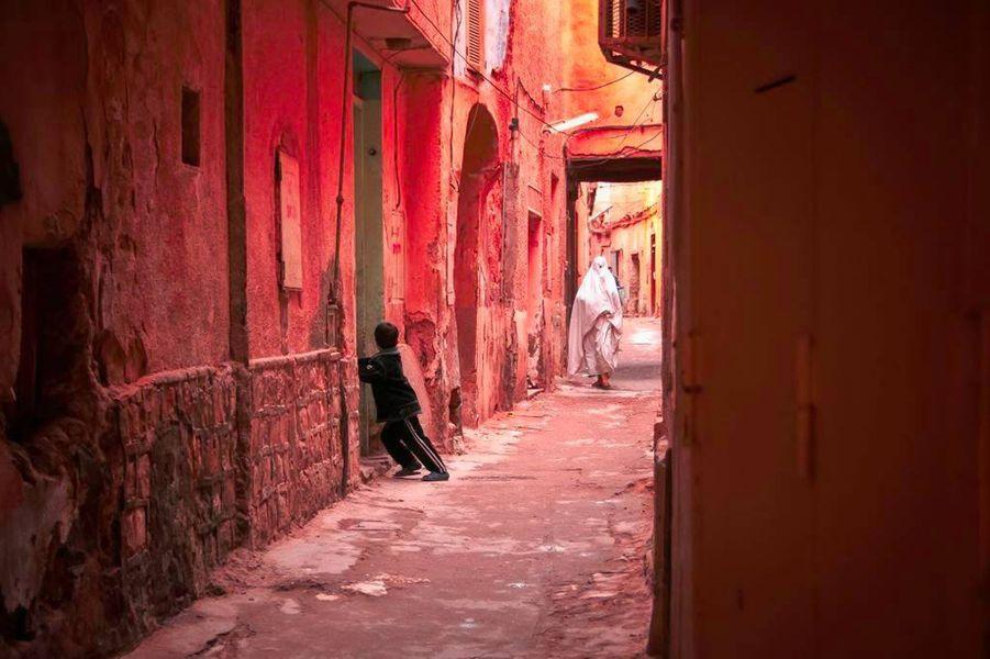 """3e photo primée""""Venelles de Ghardaïa"""",2013."""
