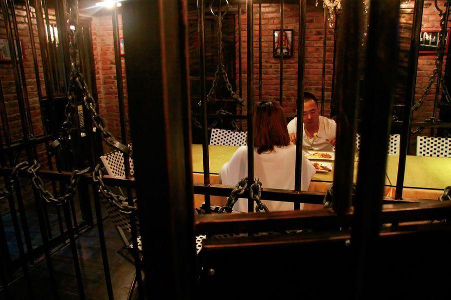 En Chine, dînez en prison