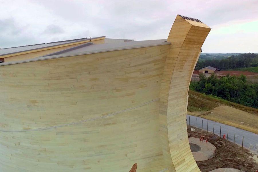 Etats-Unis: l'arche de Noé à 100 millions de dollars fait polémique
