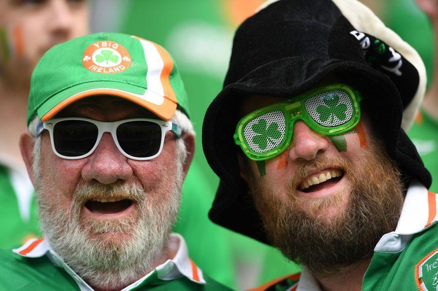 Euro 2016: France-Irlande, le match des supporters