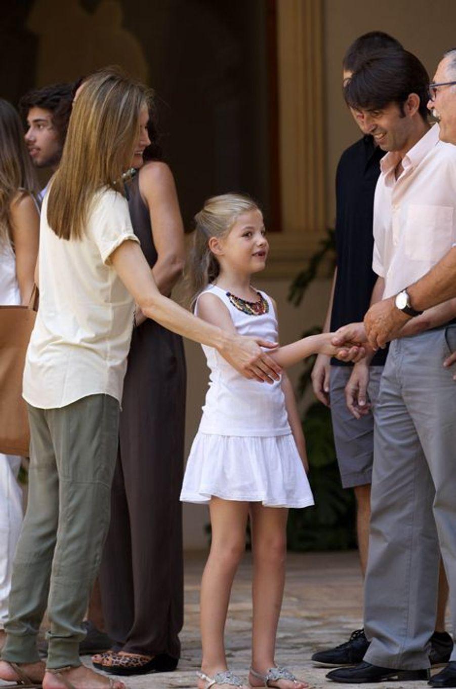 Sortie en famille pour Felipe et Letizia