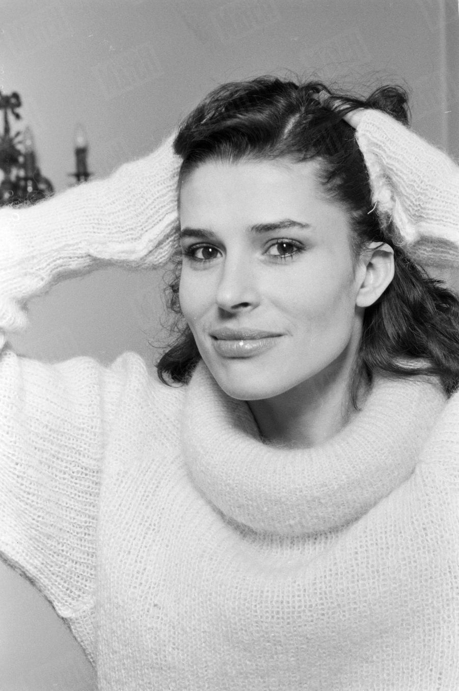 Fanny Ardant en janvier 1980.