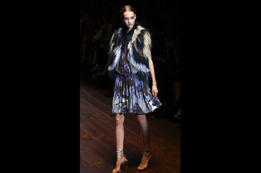 Le défilé de la maison Gucci à la Fashion week de Milan