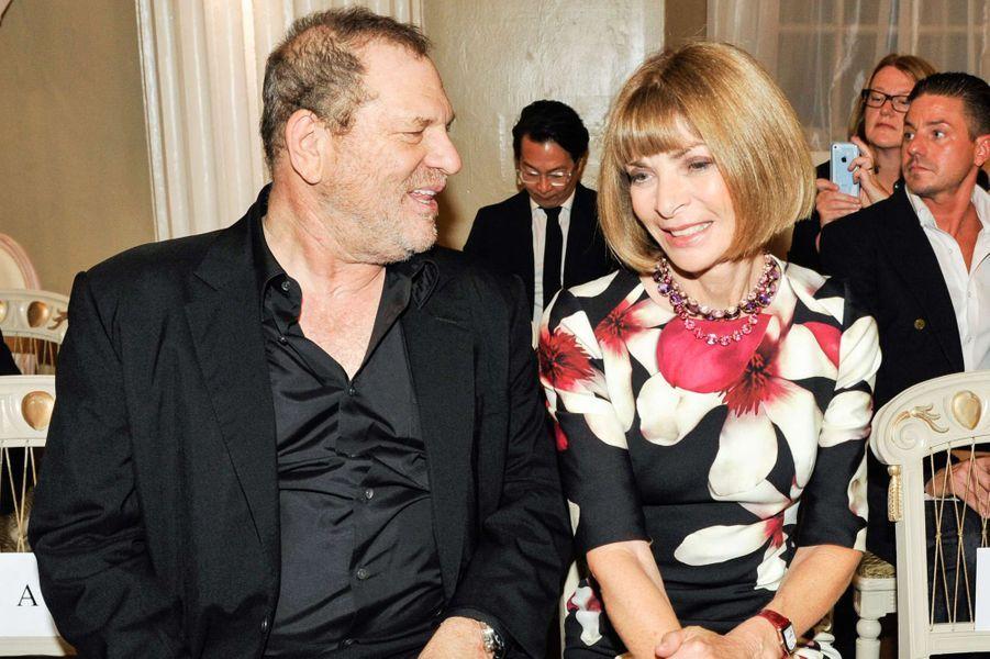 Harvey Weinstein et Anna Wintour