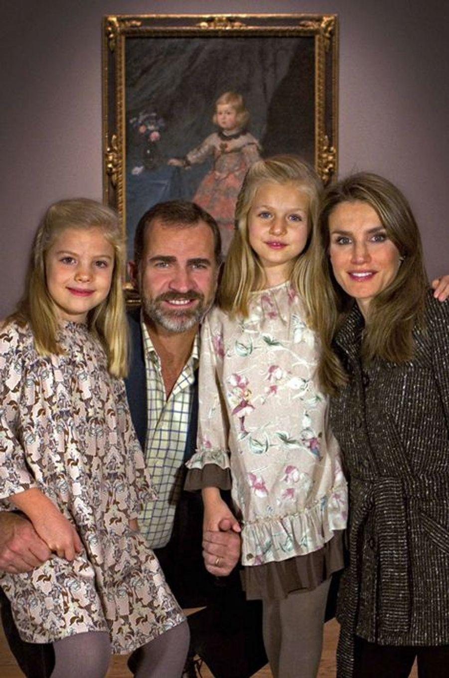 Photo de famille à la fin 2013