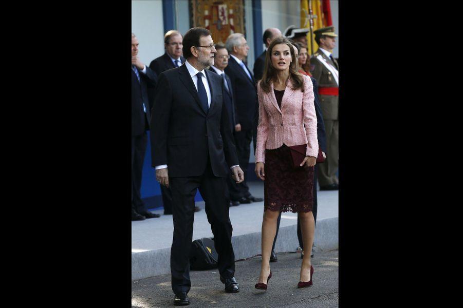 Avec Mariano Rajoy