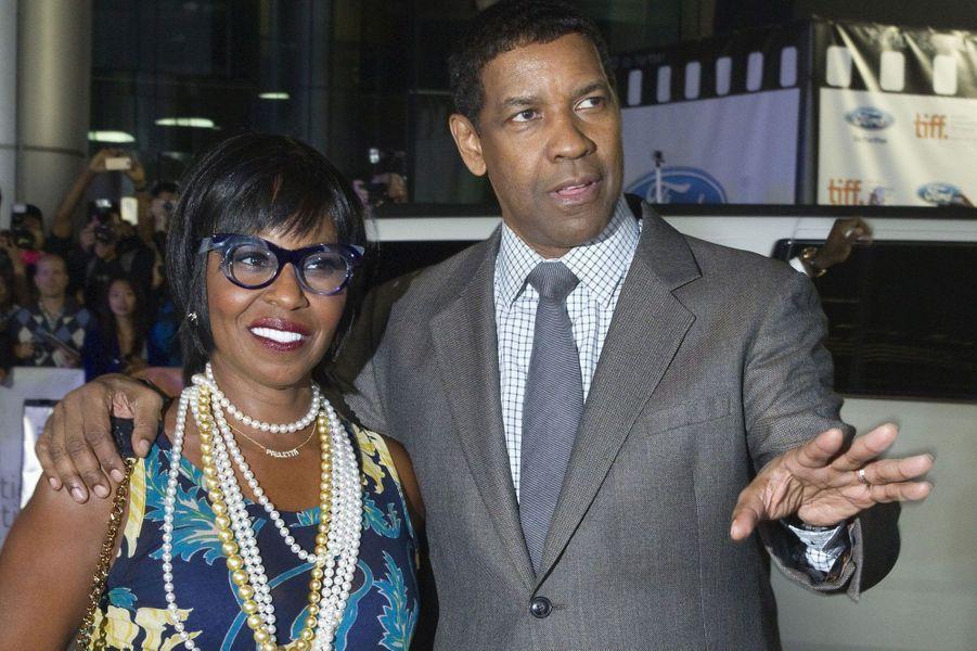 Denzel Washington et sa femme Pauletta Pearson
