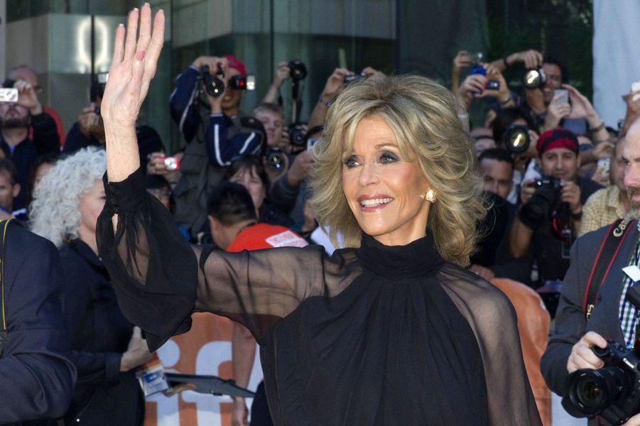 Jane Fonda sera en vedette en début d'année prochaine avec «This Is Where I Leave You» de Shawn Levy, présenté ce week-end à Toronto.